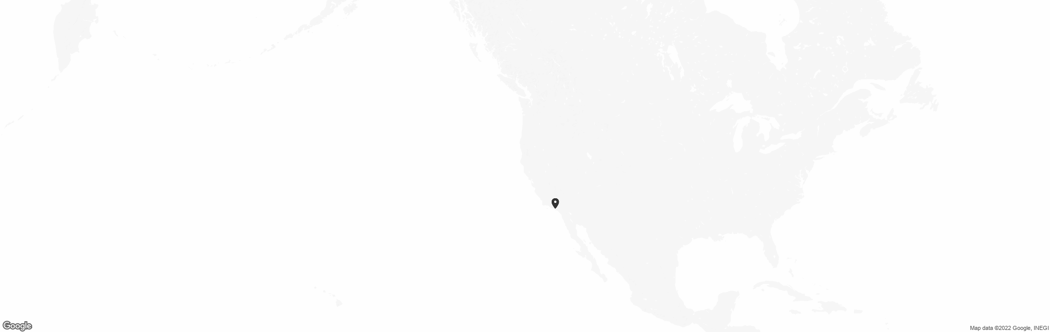 Map of US with pin of Exceptional Mindset Tutors location
